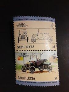 ^St. Lucia #691               MH