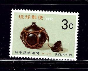 Ryukyu Is 194 MNH 1970 issue
