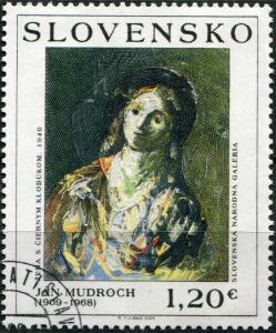 Slovakia. 2009. Art: Ján Mudroch (1909 - 1968) (CTO) Stamp