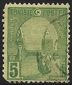 Tunisia 1906-26 Scott# 32 used