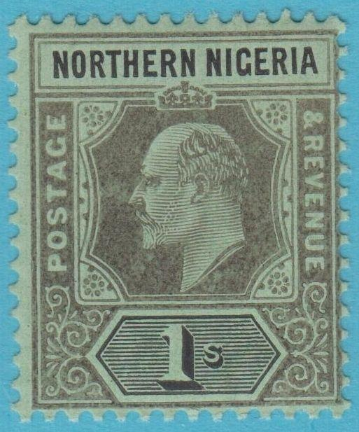 NORTHERN NIGERIA 35 MINT HINGED OG NO FAULTS EXTRA FINE