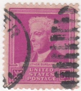 United States, Scott # 876, Used