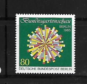 BERLIN, 9N500, MNH, HORTICULTURAL SHOW