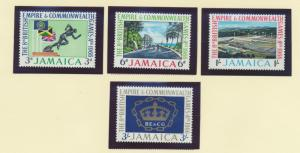 Jamaica Scott #254 To 257, Mint Never Hinged MNH, Commonwealth Games Issue Fr...