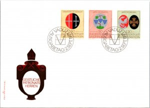 Liechtenstein, Worldwide First Day Cover