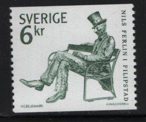 SWEDEN  1447, MNH, 1983 Nils Ferlin, poet