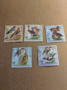 Germany Semi Postal B837-41 Set Used