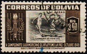 Bolivia. 1951 3b S.G.536 Fine Used