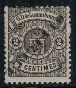 Luxembourg #O30a*  CV $14.50
