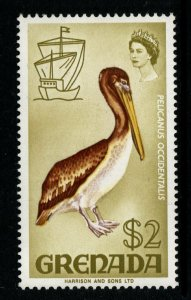 GRENADA SG319 1969 $2 BIRD DEFINITIVE MNH