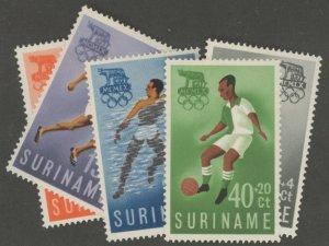 Suriname B75-9 * mint hinged sport olympic (2107 384)