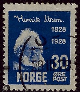 Nice Norway #135 Used  VF...grab a bargain and fill an empty spot!