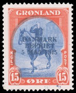 Greenland MNH #23a CV$420.00 [60816]