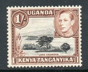 KUT 1938 KGVI 1/- brown p13x12½ SG 145b mint CV £24