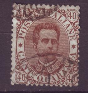 J16923 JLstamps 1889 italy king used #53