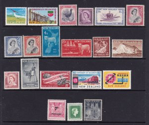 New Zealand a small mint lot early QE2 better items