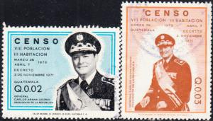 Guatemala #420-423 Used Set