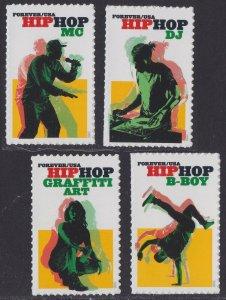 US 5480-5483 Hip Hop forever set (4 stamps) MNH 2020