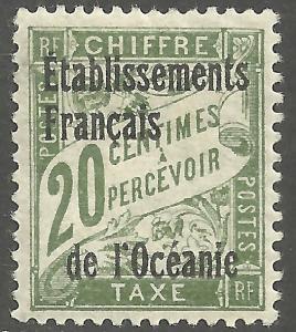 FRENCH POLYNESIA SCOTT J3