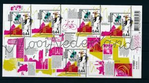 [16563] Netherlands 2009 Beautiful Holland Oosterhout Bicycle Sheet MNH