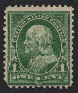 United States MINT Scott Number 279  MNH   F-VF   - BARNEYS