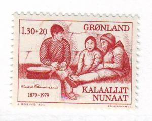 Greenland Scott B8 1979 Rasmussen charity stamp mint NH