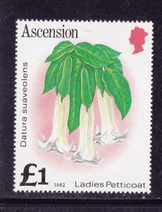 Ascension # 287, Ladies Petticoat (Flower), Mint NH 1/2 Cat