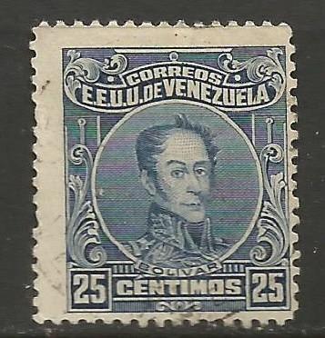 VENEZUELA 276 VFU BOLIVAR V068-1