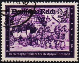Germany. 1941 24pf+36pf S.G.766. Fine Used