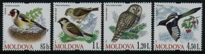 Moldova 669-72 MNH Birds
