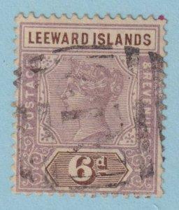 LEEWARD ISLANDS  5 USED  NO FAULTS VERY FINE!