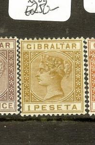 GIBRALTAR (B0402) QV  2P   SG14  MOG