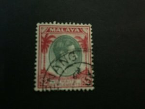 Straits Settlement: 1937 $2  red and green , SG 291, fine used