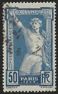 France #201 Used Single (U5)