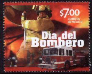 MEXICO 2880, Firemen's Day. MINT, NH. VF.