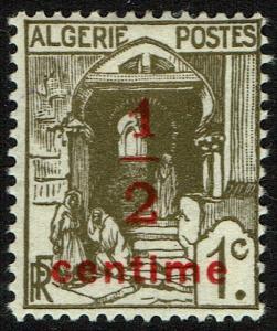Algeria #P2  Unused - Newspaper Stamp (1926)