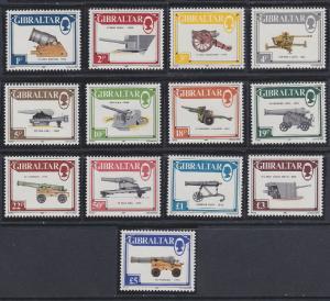 Gibraltar 508-520 MNH (1987)