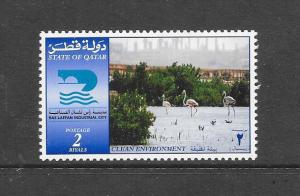 BIRDS - QATAR #946-FLAMINGOS  MNH