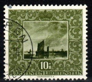 Liechtenstein #B19 F-VF Used CV $7.00 (X8367)