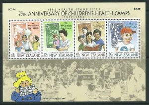 NEW ZEALAND SGMS1817 1994 HEALTH STAMPS MNH