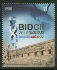 MEXICO 2673, Assembly Inter-American Development Bank. MINT, NH. F-VF.