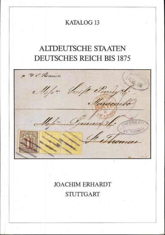 Erhardt: Sale # 13  -  Altdeutsche Staaten Deutsches Reic...