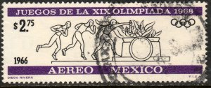 MEXICO C320, $2.75P 2nd Pre-Olympic Issue - 1966 Used. F-VF. (451)