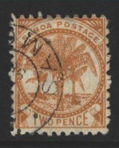 Samoa Sc#13 Used - perf 11x11