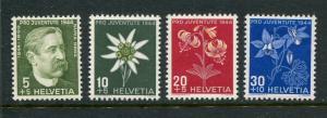 Switzerland #B137-40 Mint