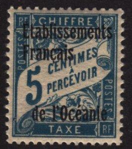 French Polynesia J1 Postage Due 1926