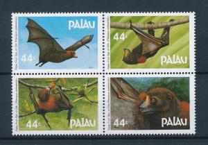 [75130] Palau 1987 Wild Life Fruit Bats  MNH