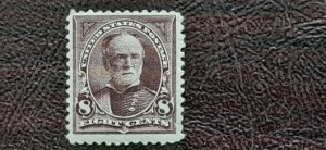 Scott # 257; Mint, og, hinged, F centering