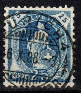 Switzerland #120a  F-VF Used CV $11.50 (X670)