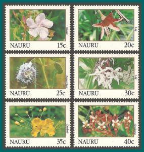 Nauru 1991 Flowers, MNH 380-392,SG391-SG402